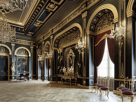 Home Design 3d Gold Ideas by Blackum Mixing Between Gold Black Color In Luxury