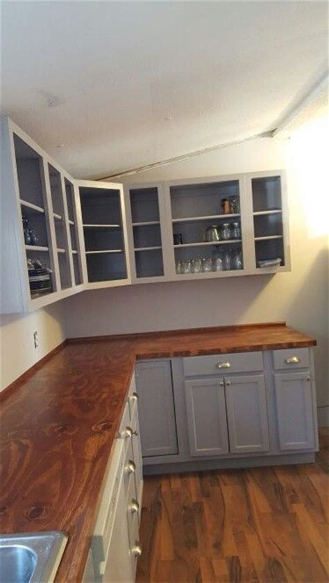 plywood countertops remodeling mobile homes home