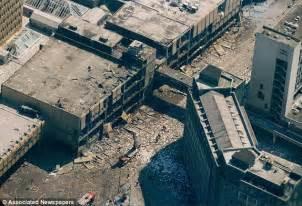 IRA bomb explosion video destroys Manchester city centre ...