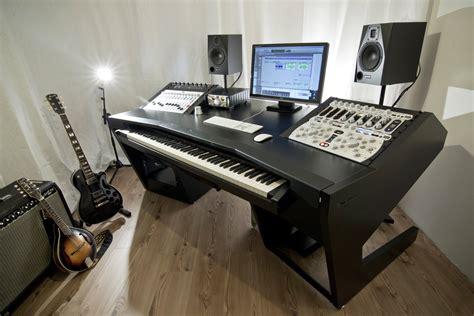 bureau pour home studio bureau unterlass duodesk key 60 audiofanzine