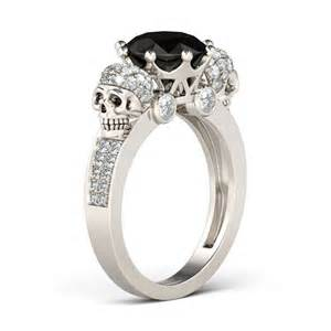 engagement rings with skulls skull wedding rings wedding rings