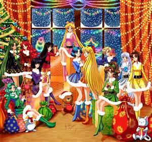 Download Sailor Moon Christmas Wallpaper Gallery