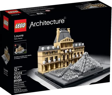 Lego Architecture Louvre 21024 (retired By Lego) By Lego
