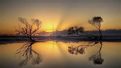 Africa Sunset Sky Horizon Nature Landscapes Wild
