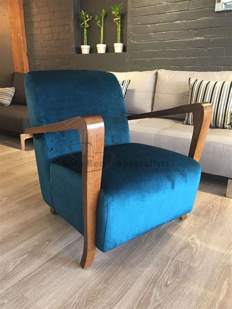 retro chair timber arms sofa bed specialists