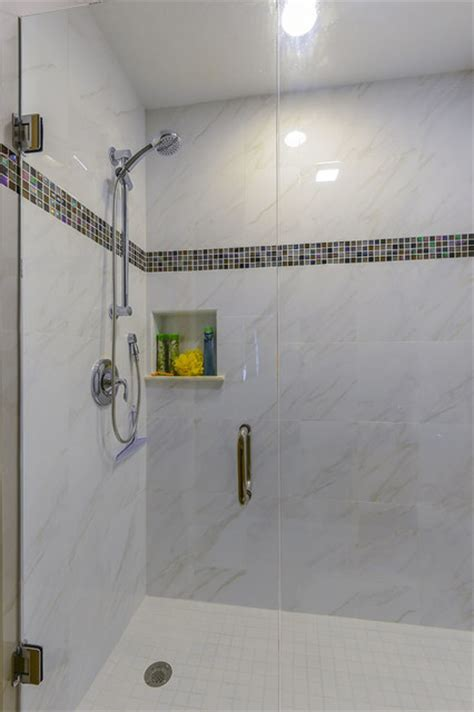 indian shores shower remodels contemporary bathroom