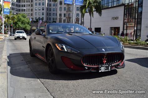 Maserati Beverly by Maserati Granturismo Spotted In Beverly California