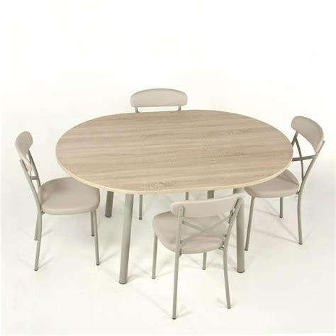 pied de table cuisine table de cuisine extensible en stratifié elli 4 pieds