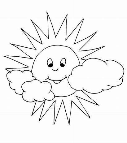 Sun Coloring Pages Interesting Momjunction Printables