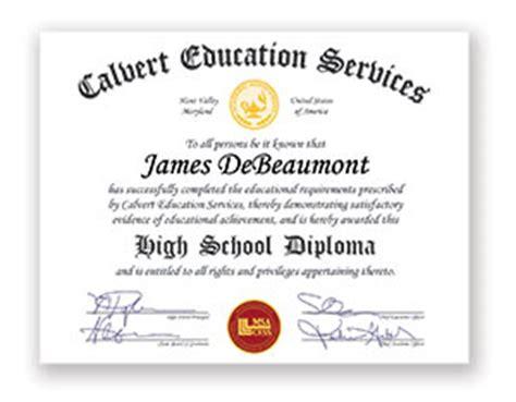 earn your us high school diploma calvert education