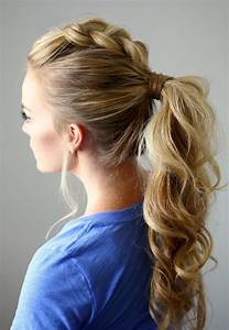 Best Ponytail Hairstyles for Girls 2018 Short and Mid Length Hairstyle