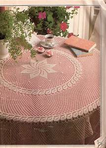 Crochet Table Cloth With Free Instructions