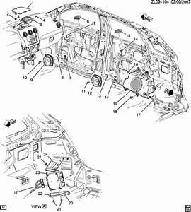 2013 Chevrolet Captiva Sport Ltz Grille  Radio Speaker