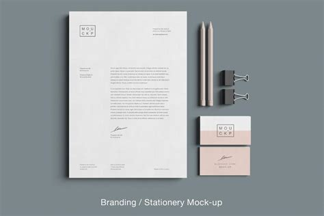 Free Advanced Clean Branding Stationery Mockup Business Business Cards Design London Letter Quote Price Headed Letterhead Template For Government Employees Card Kl Letters All Pdf Advice In Block Format