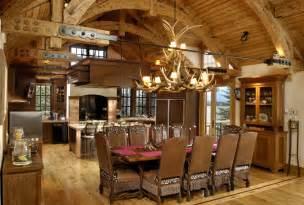 log home interiors photos rustic kitchens design ideas tips inspiration