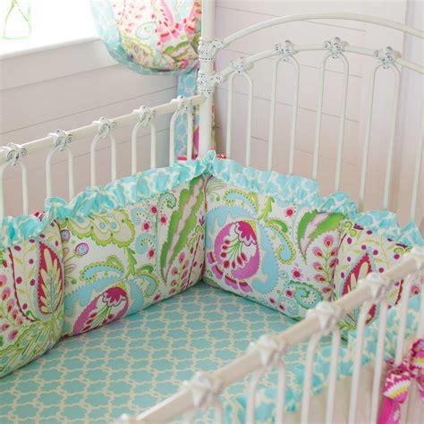 baby crib bumpers kumari garden crib bumper carousel designs