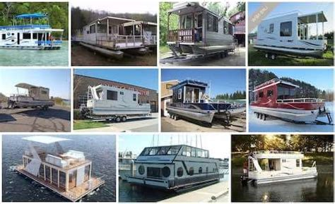 Mini Pontoon Boat Manufacturers by Pontoon House Boats Are Excellent Tips S Plans