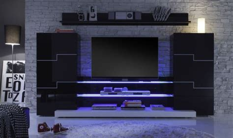 white wall shelves 55 cool entertainment wall units for bedroom