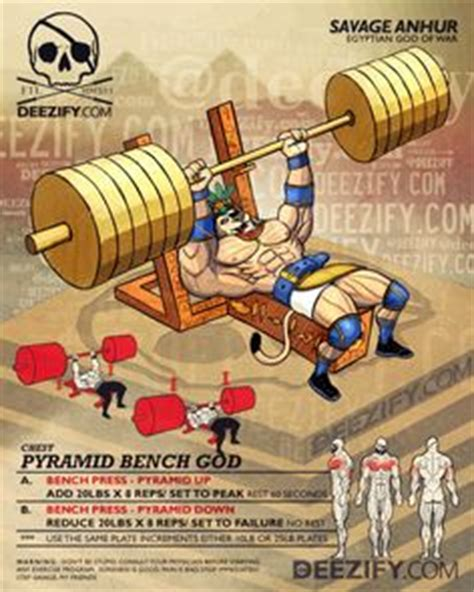 Benching Pyramid by 1000 Images About Exercise On Pinterest Muscle Fitness