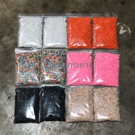 หินสีโรยหน้ากระถาง ถุงละ 200 กรัม | Shopee Thailand