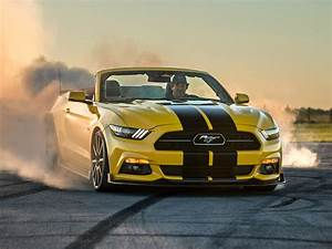 Hennessey Ford Mustang GT Convertible HPE750 Supercharged 2015