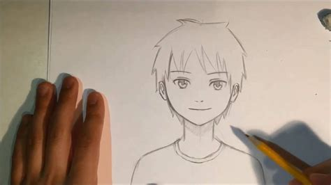 How To Draw Anime Male Face Slow Narrated Tutorial No
