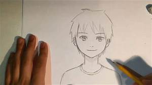 How To Draw Anime Male Face [Slow Narrated Tutorial] [No ...
