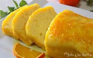 JULIA Y SUS RECETAS: Bizcocho de naranja al microondas con almíbar de naranja y sin gluten