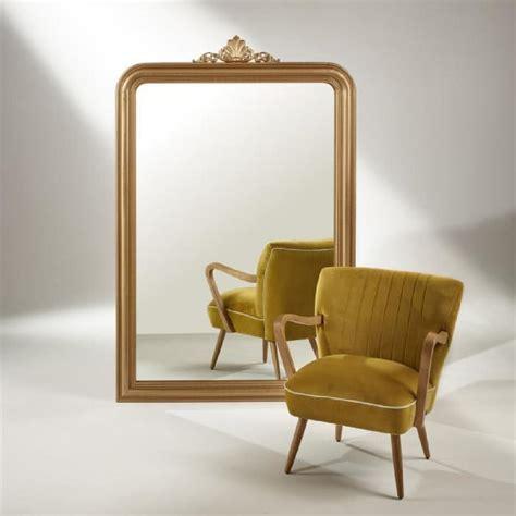 Grand miroir doré AMANDINE Achat / Vente miroir Cdiscount