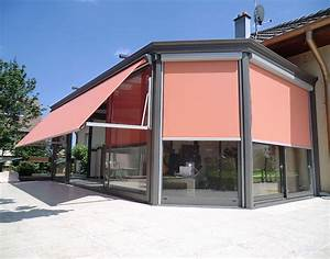 aluminiumhabitatfr les protections solaires With store exterieur veranda prix