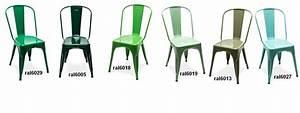 Chaise Metal Tolix : chaise a tolix kaki chaise design tolix ~ Teatrodelosmanantiales.com Idées de Décoration