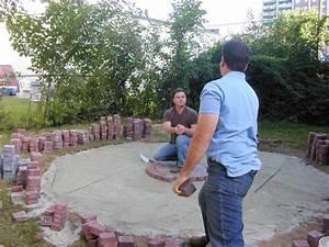 How To Lay A Circular Paver Patio