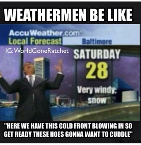 Cold Weather Meme - funny memes weather prediction pictures to pin on pinterest pinsdaddy
