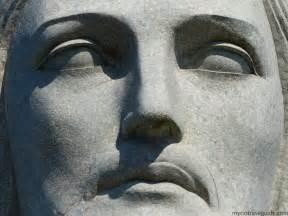 Christ the Redeemer Statue Face