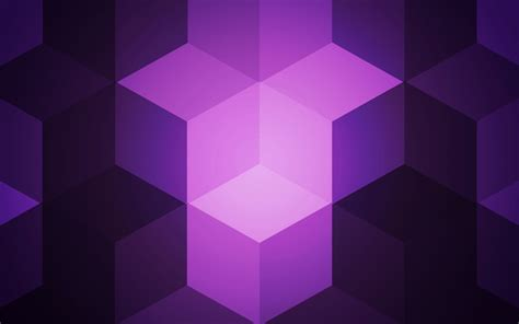 wallpaper cubes violet hd   abstract