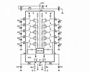 here can you find the a schematic of a universal stereo With vu meter 3