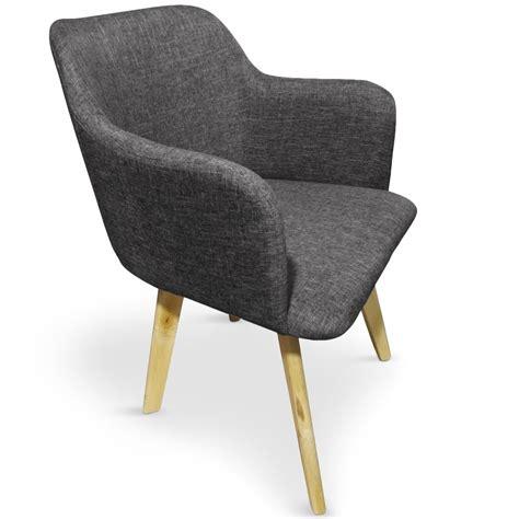 chaise pas cher grise fauteuil style scandinave pas cher maison design bahbe com