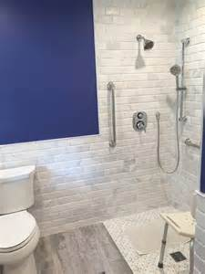 beveled marble subway tile design build pros