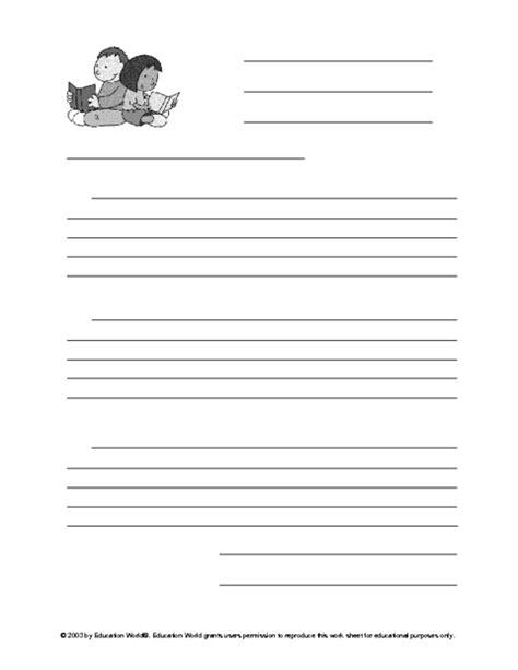 images  friendly letter worksheet template