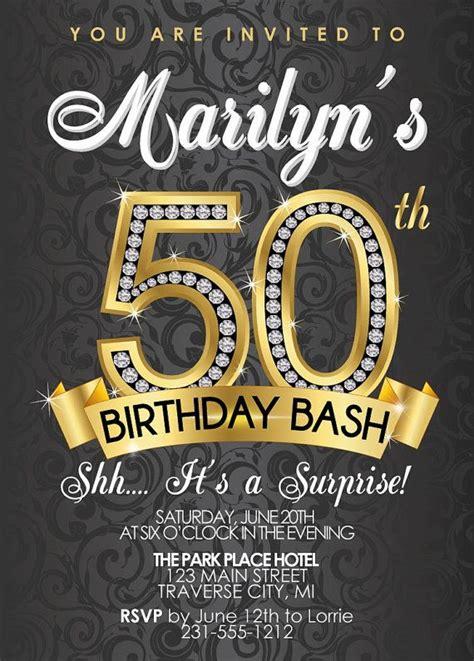 surprise  birthday party invitations  birthday