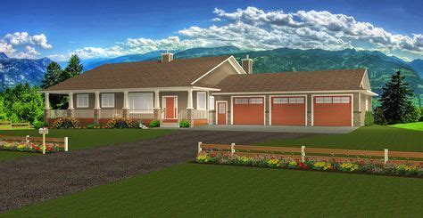 Plan 2017118: Ranch Style Bungalow plan with a finished