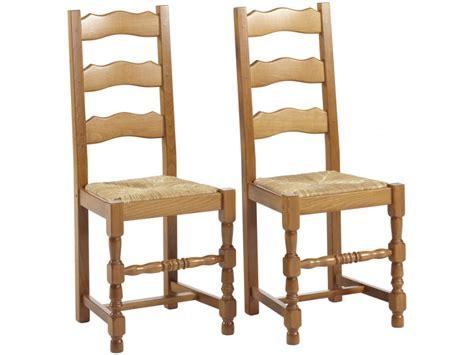lot de 2 ou 6 chaises seguin h 234 tre massif teinte ch 234 ne