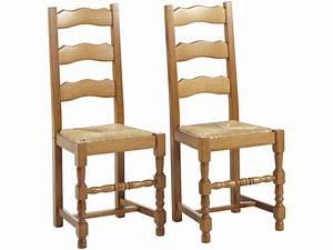 Vente Privee Chaise : lot de 2 ou 6 chaises seguin h tre massif teinte ch ne ~ Teatrodelosmanantiales.com Idées de Décoration
