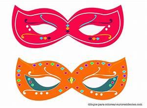 Originales y bonitas máscaras de carnaval para imprimir ...