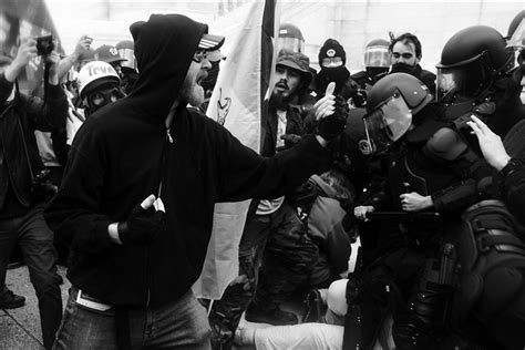 White rioters at the Capitol got police respect. Black ...