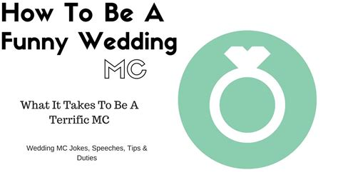 Mc Template For Wedding How To Mc A Wedding Template How To Be A Wedding