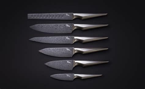 kitchen knife collection kuroi hana japanese knife collection 187 gadget flow