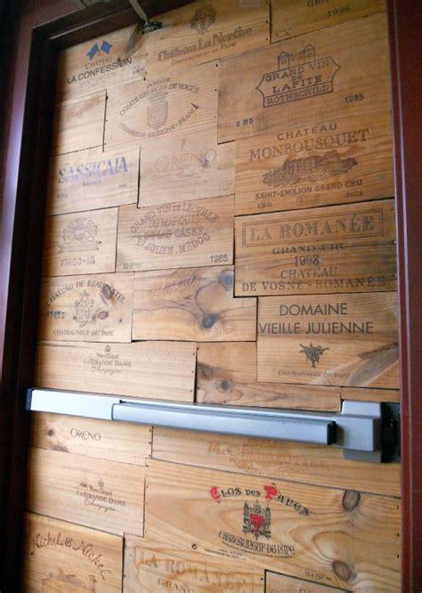 porte avec estes caisses 224 vin d 233 co maison