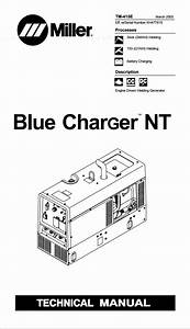 Miller Blue Charger Nt Technical Manual Eff  W  Serial