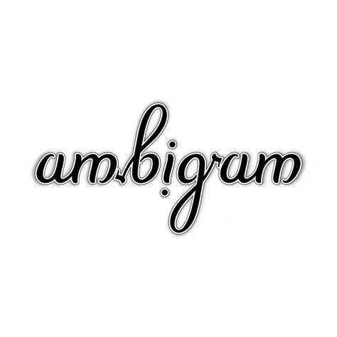 ambigram wiktionary